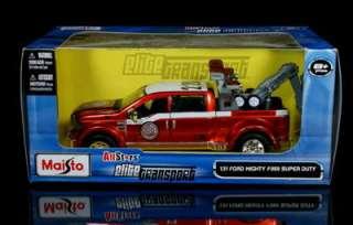 Ford F 350 Super Duty Wrecker Tow Truck Diecast 131 Scale   Copper