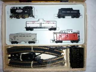 VINTAGE Marx HO SCALE Train Set Atlas Track Complete 1962 LOCOMOTIVE
