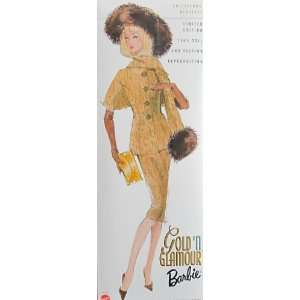GOLD N GLAMOUR Barbie DOLL 5th Collectors Request