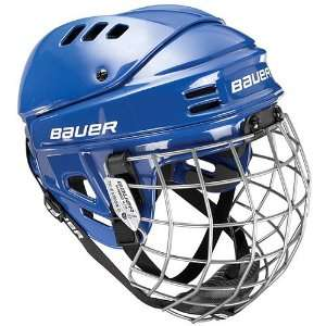 Bauer 1500 Hockey Helmet with Cage 2010 X Small   White