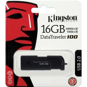 New Kingston 16 GB USB 2.0 Flash Drive Memory Stick Data Traveler 16GB