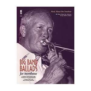 Big Band Ballads for Tenor or Bass Trombone Musical Instruments