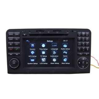 Mercedes benz ML350 Car GPS Navigation DVB T DVD Player