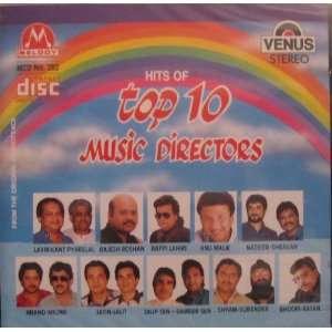 10 Music Directors: Laxmikant Pyarelal, Rajesh Roshan, Bappi Lahiri