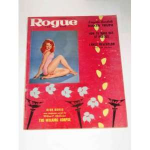 Rogue For Men Vintage Adult Magazine December 1958
