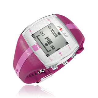 POLAR FT4 NEW COLOR PURPLE AND PINK HEART RATE MONITOR