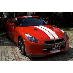 NISSAN 350 GTR 6Rally Stripe 210 long any car truck