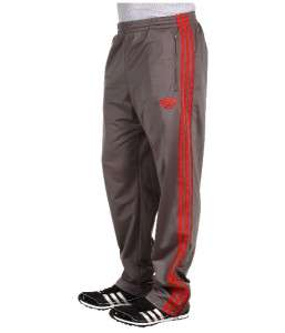 Adidas Originals Firebird Track Pants Gray Red NWT 2XL