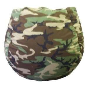 Bean Bag Boys Army Camouflage Bean Bag Chair