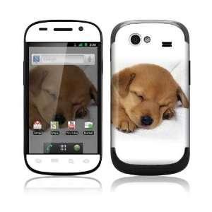 Samsung Google Nexus S Decal Skin   Animal Sleeping Puppy
