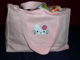 Sanrio Hello Kitty Tote Shopping Bag Handbag Beach Swim