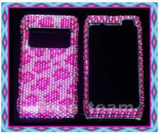 Pink Leopard Bling Crystal Case Cover For Nokia N8 B19