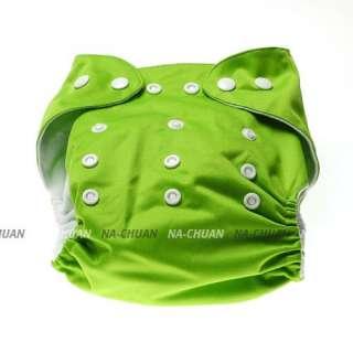 New U Pick Adjustable Reusable Baby Cloth Nappy Diaper