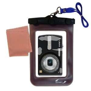 Gomadic Clean n Dry Waterproof Camera Case for the Panasonic Lumix DMC