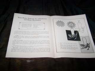 XMAS POSTER PATTERNS Santa Claus Christmas Paper Toy Box 1920s