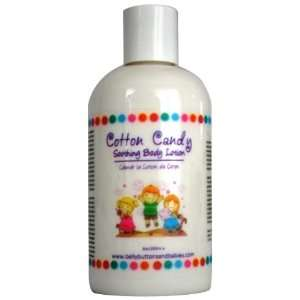 Belly Buttons and Babies Organic Cotton Candy Soothing Body Lotion, 8