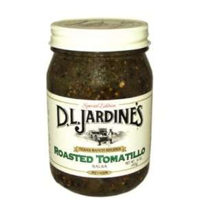 Roasted Tomatillo Salsa (Case pack of 6)  Grocery