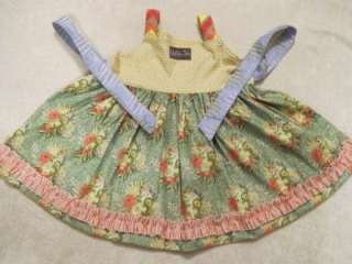 Matilda Jane Platinum Lana Knot Top Dress Easter Size 8 NWOT