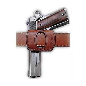 Yaqui Slide Belt Holster, Right Hand, Leather, Tan  Sports
