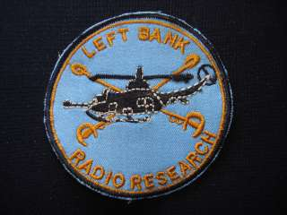US 371st Radio Research Company LEFT BANK   Vietnam War Patch