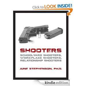 Shooters: Schoolyard Shooters, Workplace Shooters, Relationship