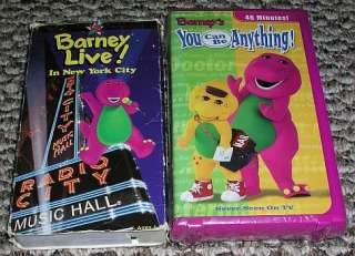 11 Barney & Friends Movie Lot Vhs Video Tapes