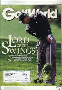 TIGER WOODS GOLF WORLD 04 LORD OF THE SWINGS MATCH PLAY