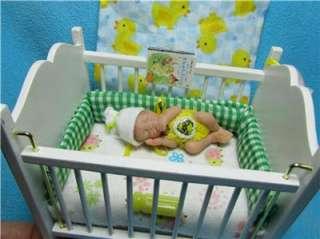 Baby Girl Newborn Art Doll Dressed Thumbsucker Duckwalkbabies