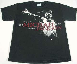 MICHAEL JACKSON This Is It, London T Shirt HANES