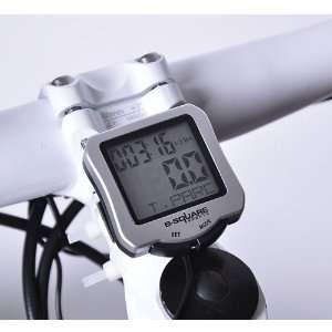 2011 LCD Waterproof Bicycle Cycling Bike Computer Odometer Speedometer