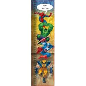 MARVEL HEROES Name Personalized Growth Charts Everything