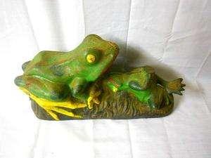 Design Vintage Bank.Bank Cast Iron Vintage Frog Design Circa 1940 Works On Popscreen