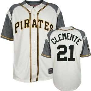 Roberto Clemente Majestic Throwback Sandlot Pittsburgh Pirates Jersey