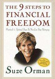 The 9 Steps to Financial Freedom by Suze Orman 1997, Hardcover