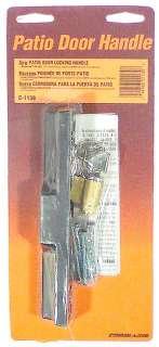 Prime Line C1139 Sliding Glass Door Locking Handle 049793011398