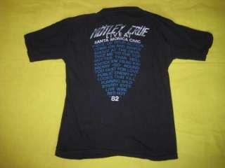 Vtg 1982 MOTLEY CRUE NEW YEARS EVIL CONCERT SHIRT tour