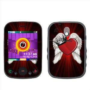 SkinMage (TM) King With Red Heart Accessory Protector Cover Skin Vinyl