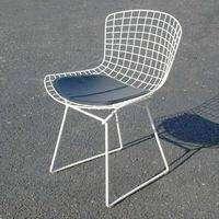 Knoll Style Bertoia Side Chair Seat Cushion Black