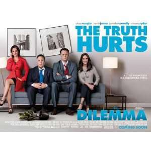 The Dilemma Movie Poster (11 x 17 Inches   28cm x 44cm) (2011) Style B