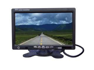 TFT LCD Screen Car DVD VCR Reverse Camera Headrest Monitor