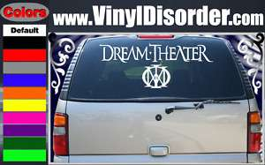 Dream Theater Text Band Vinyl Car Wall Decal Sticker
