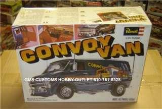 REVELL Plastic Model Kit H 1396 VINTAGE CHEVY CONVOY VAN TRUCK 1/25