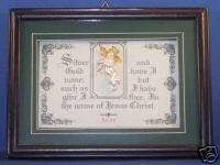 Bible,Verses,Scripture,Framed,Plaques,Christian Gifts