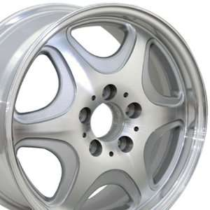 with Machined Face Fits Mercedes Benz   Silver 16x7.5 Automotive