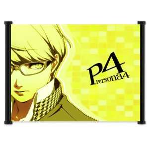 Shin Megami Tensei Persona 4 Game Fabric Wall Scroll Poster (18x16