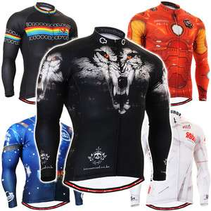 FG CS1 SB long sleeve custom design cycling jersey bicycle shirts bike