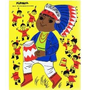 Vintage Playskool Ten Little Indians Puzzle