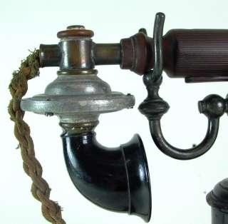 sehr schönes antikes Ericsson Skelett Telefon 1892