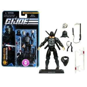 SNAKE EYES with Alternate Head, Sword Fighting Mask, Temple Spirit