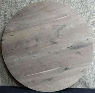 Large Round Black Walnut Custom Glue Up Dining/Coffee Table Top 10531